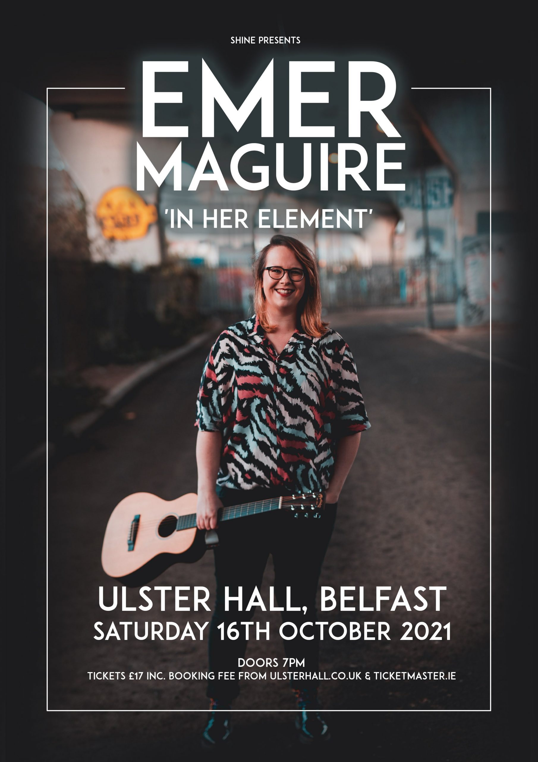 Emer Maguire Ulster Hall Comedy